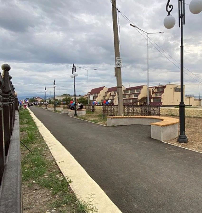 В Кизилюрте открыли новый сквер
