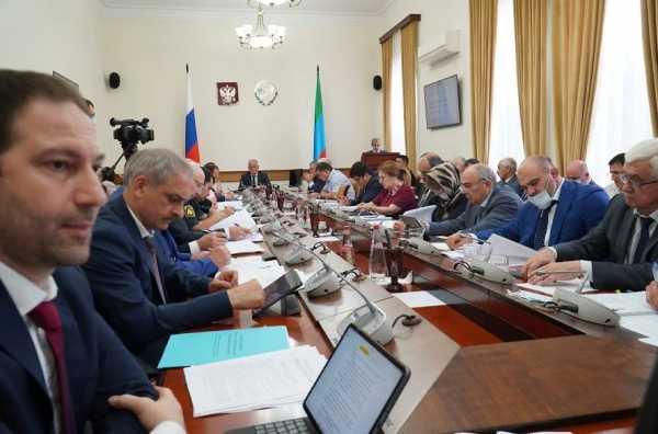 Исполнение республиканской инвестпрограммы обсудили в Правительстве Дагестана