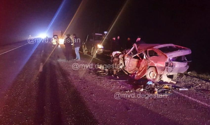 В Тарумовском районе в результате ДТП погиб человек