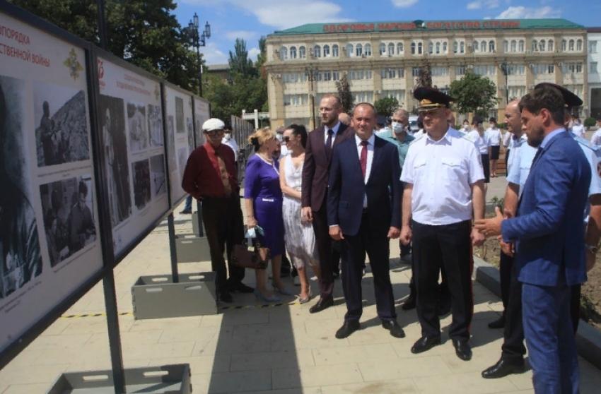 В Махачкале открылась фотовыставка «Солдаты правопорядка в годы ВОВ»