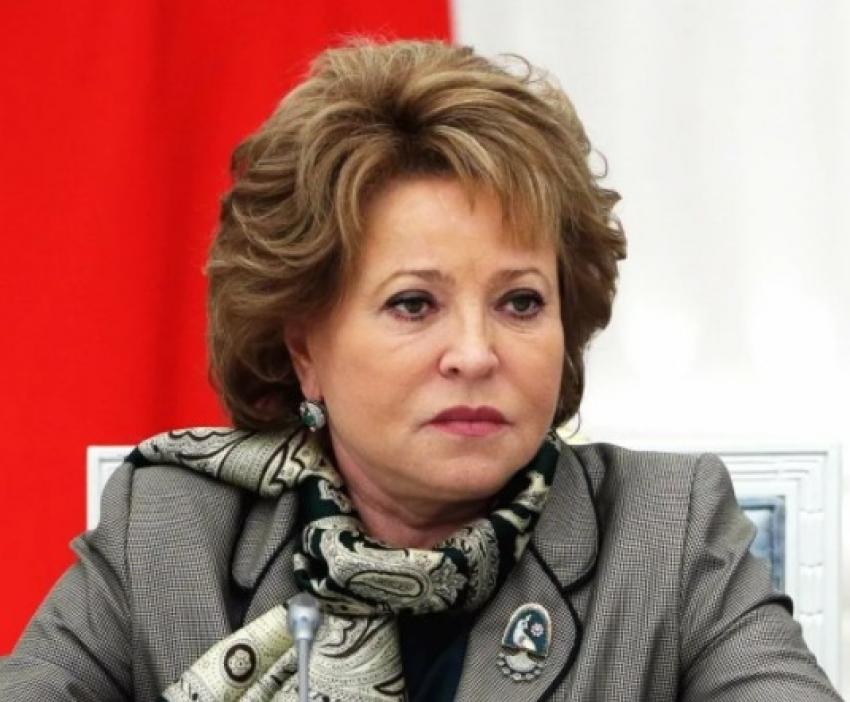 Валентина Матвиенко поздравила дагестанцев со 100-летием ДАССР