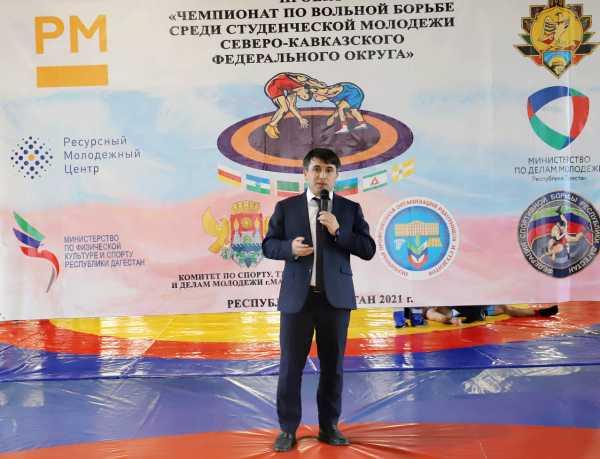 В Табасаранском районе прошел молодежный чемпионат по вольной борьбе