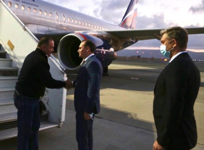 Сергей Меликов прибыл в Дагестан