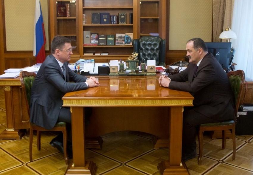 В Москве прошла встреча Сергея Меликова и Александра Новака