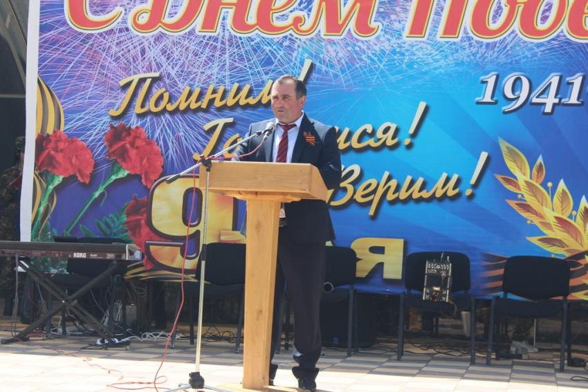В Хивском районе прошли торжества ко Дню Победы