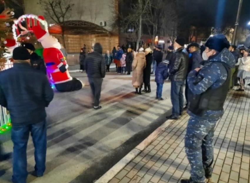 В Дагестане при участии сотрудников Росгвардии удалось обеспечить безопасность в новогодние праздники