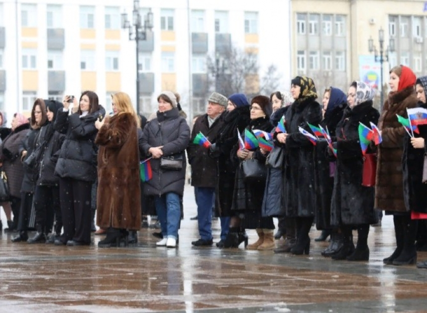 В Махачкале прошло торжественное открытие Года столетия ДАССР