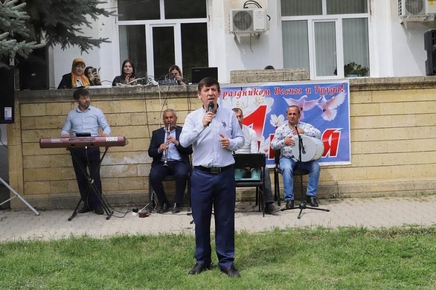 В Табасаранском районе отметили праздник Весны и Труда
