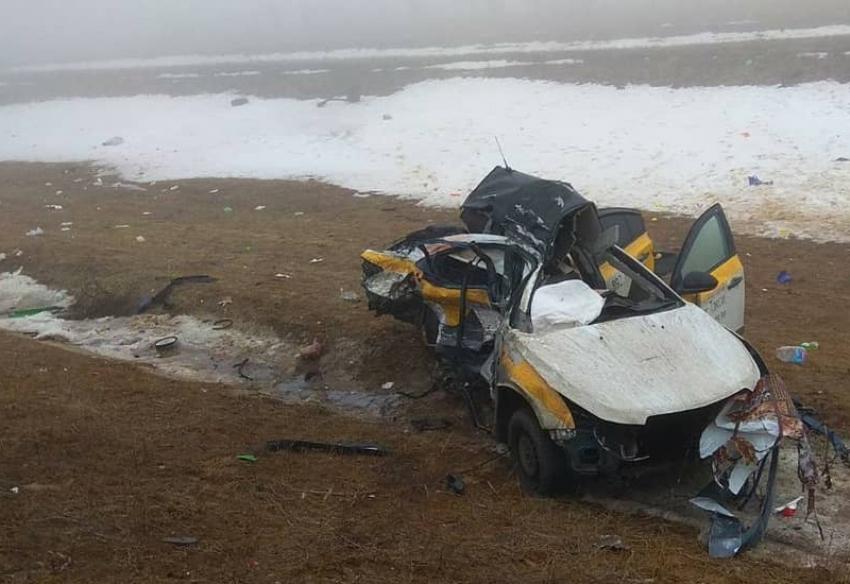 Трое жителей Дагестана скончались в ДТП в Калмыкии