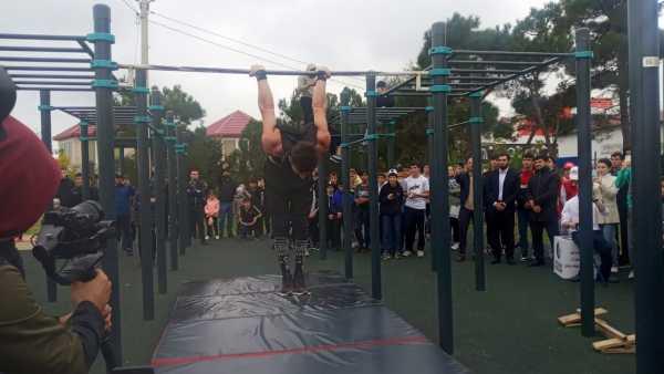 В Каспийске прошел фестиваль уличного спорта «Дагестан воркаут фест 2021»