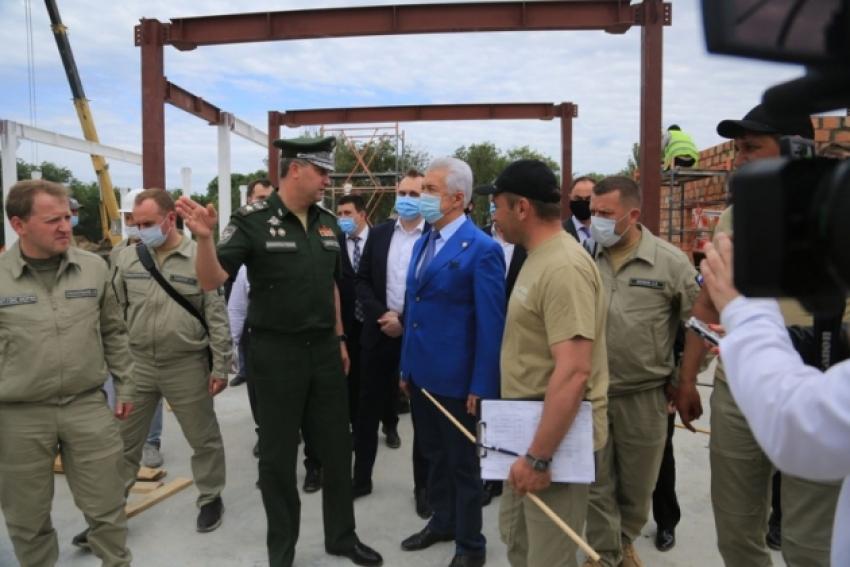 Строительство госпиталя в Каспийске завершится к концу июня