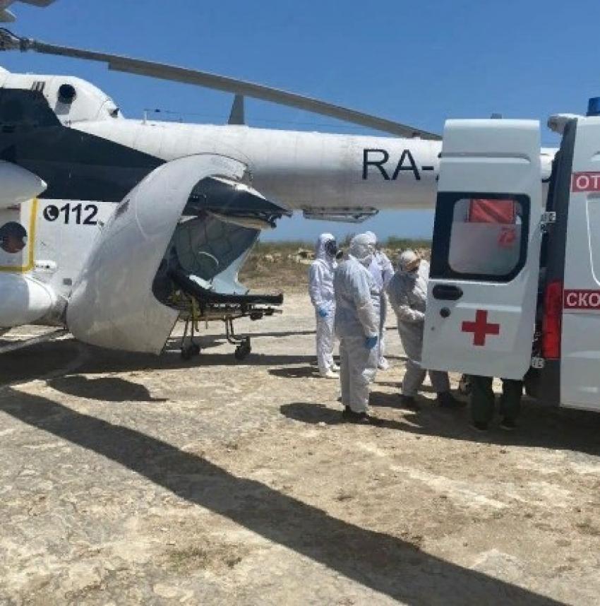 Пять пациентов из ЦГБ Дербента транспортированы в Махачкалу
