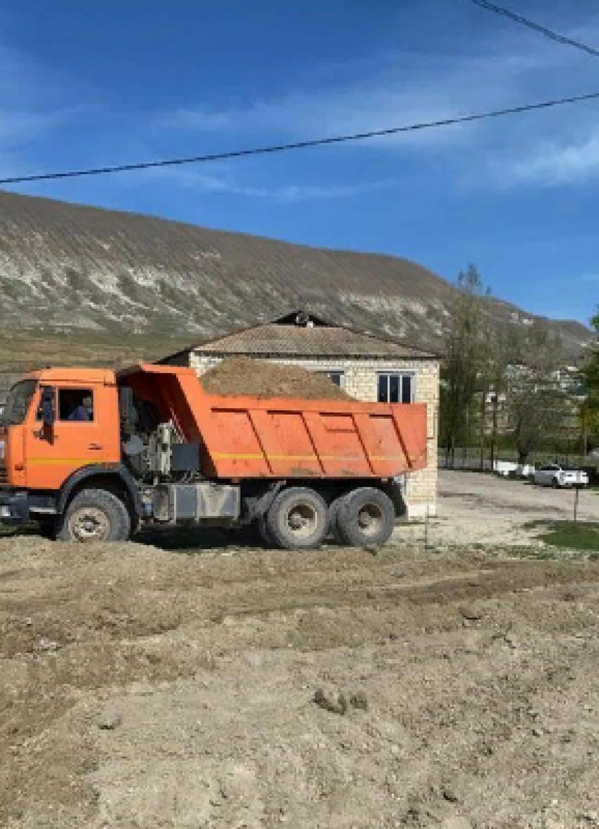 В селе Акушинского района появится новый парк