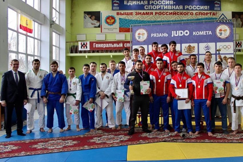 Команда ДГМУ стала победителем Всероссийского чемпионата по дзюдо в Рязани