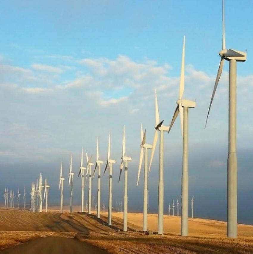 В Южно-Сухокумске планируется наладить производство ветрогенераторов