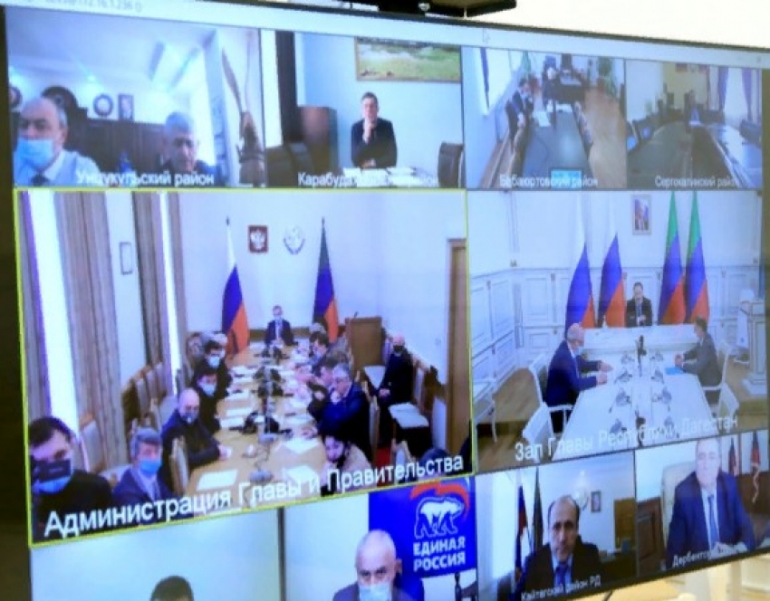 Меликов провел заседание оргкомитета по празднованию 100-летия ДАССР