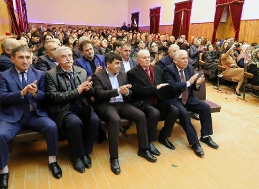 В Табасаранском районе отметили 8 марта
