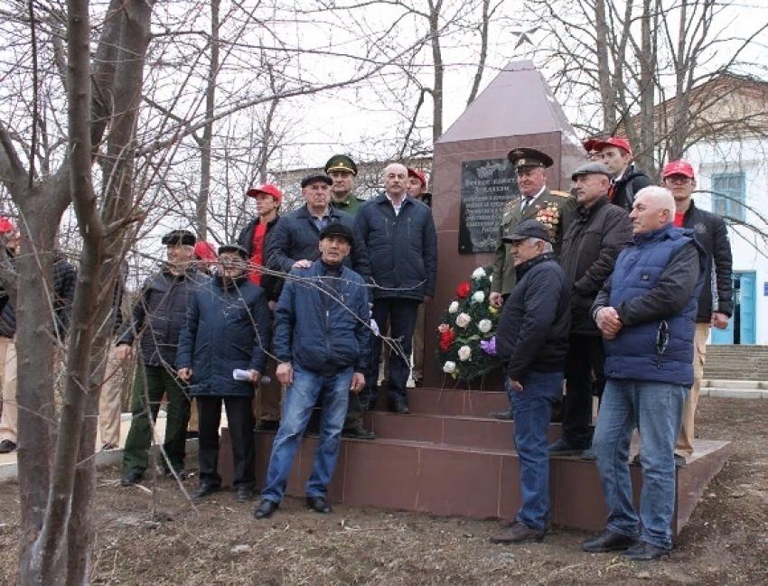 Памятник участникам локальных войн открыли в Сергокалинском районе