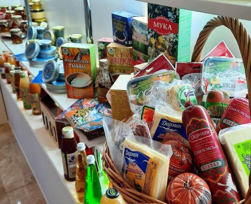 Выставка дагестанской сельхозпродукции открылась в Совете Федерации РФ
