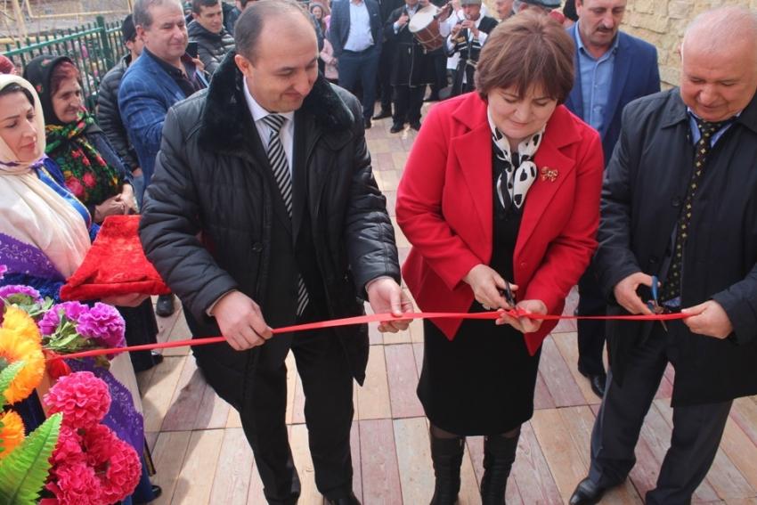 В Хивском районе торжественно открыли новый Дом культуры