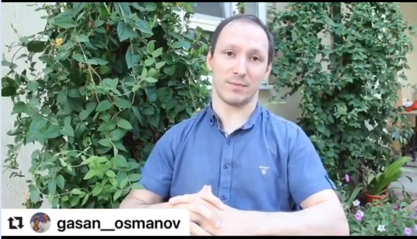Гасан Османов принял участие в голосовании к поправкам в Конституцию РФ