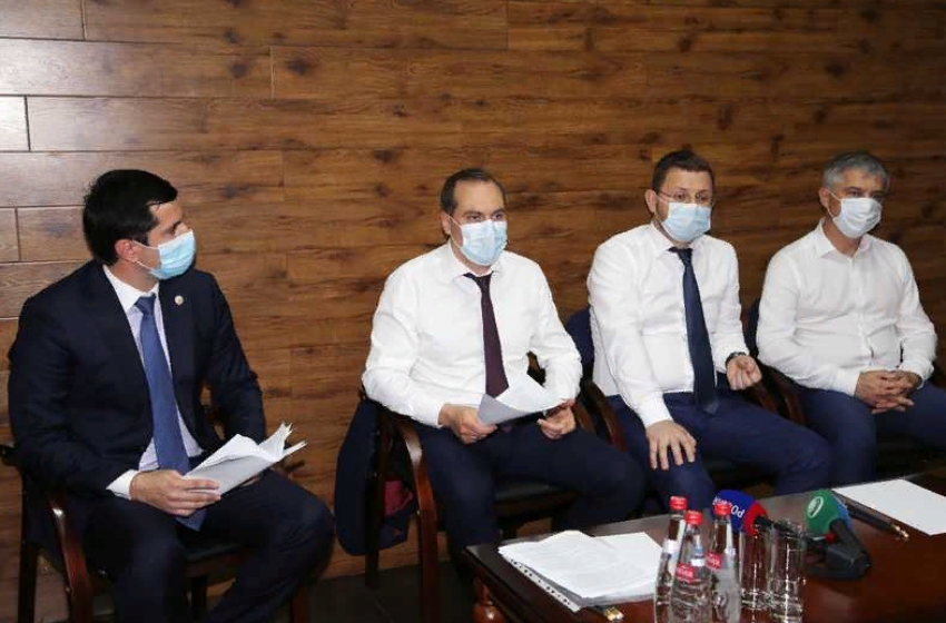 Артем Здунов встретился с предпринимателями Махачкалы