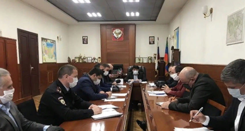 В Табасаранском районе состоялось заседание оперативного штаба по коронавирусу