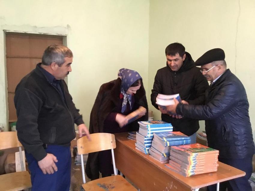 В Табасаранский район поступило 37 тысяч школьных учебников